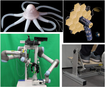 Image: Robotic projects at QMUL
